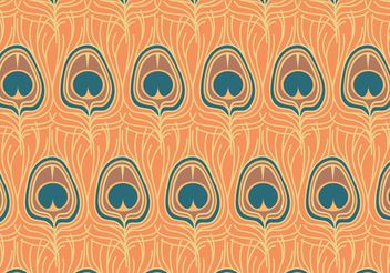 Free Vector Peacock Pattern - vector gratuit #144449