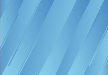 Blue Striped Background - Free vector #144629