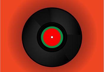 DJ Vinyl - vector #144649 gratis