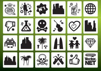 Vector Signs Symbols - Kostenloses vector #144739