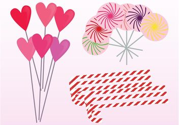 Lollipops - vector gratuit #144919