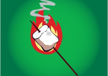 Roasted Marshmallow - vector gratuit #145009