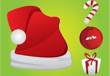 Christmas Symbols - Free vector #145019