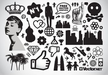 Design Elements Vector Pack - vector gratuit #145139