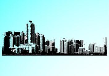 Cityscape Design - Free vector #145269