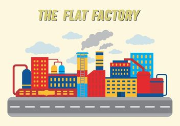 Factory Collection Vector Free - vector #145469 gratis