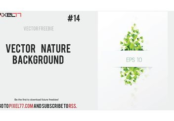 Free Vector Nature Background - Kostenloses vector #145649