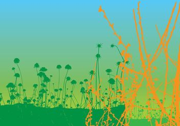Nature Background Vector - Free vector #145709