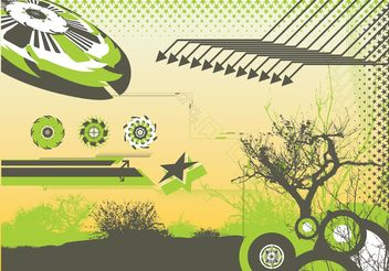 Abstract Nature Background Graphics - vector #145899 gratis