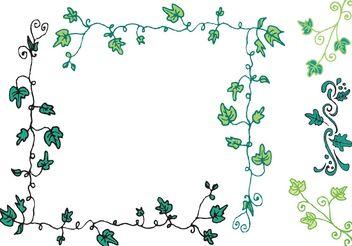 Free Ivy Vine Vector Series - vector #146029 gratis