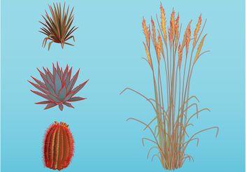 Plants - Free vector #146129