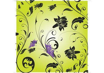 Butterfly Garden - vector #146249 gratis
