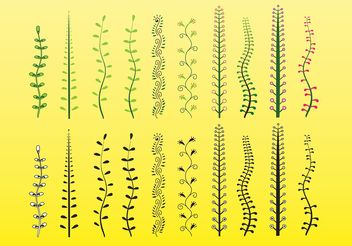Plants Vector Clip Art - vector #146259 gratis