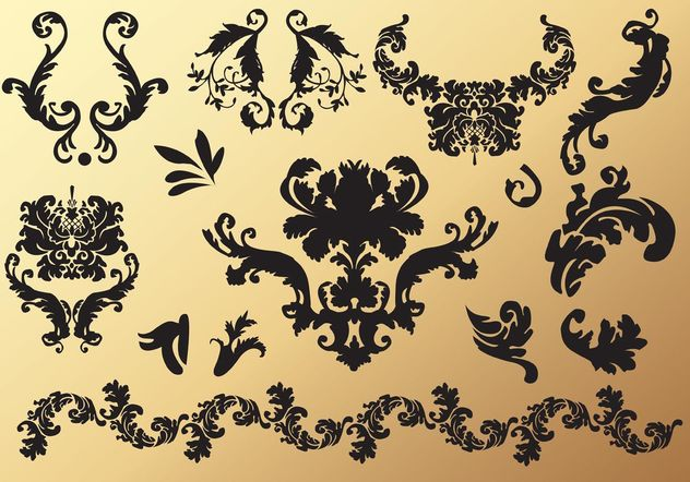 Victorian Graphics - Free vector #146269