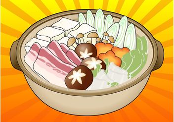 Japanese Food - vector gratuit #146849