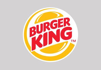 Burger King - vector gratuit #147339
