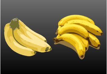 Bananas - Free vector #147459