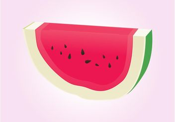 Watermelon Vector - Free vector #147559