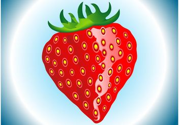 Strawberry - Kostenloses vector #147579