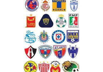 Logos Futbol Mexico - Free vector #148589