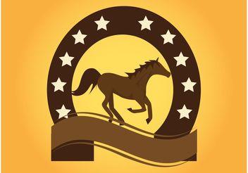 Horse Logo - Kostenloses vector #148659