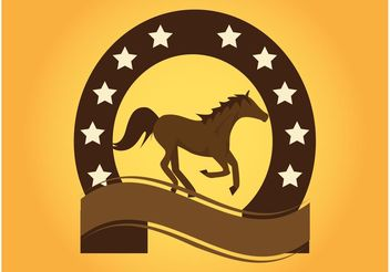 Horse Logo - vector gratuit #148659