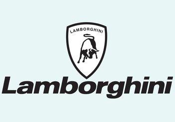 Lamborghini - Free vector #148939