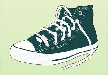 Sneaker Vector - Free vector #149079