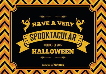 Halloween Illustration - Free vector #149359