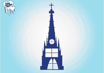 Church Building Graphics - бесплатный vector #149439