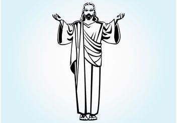 Jesus Christ - Kostenloses vector #149499
