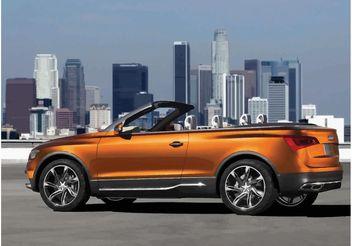 Audi Cross Cabriolet - Free vector #149599