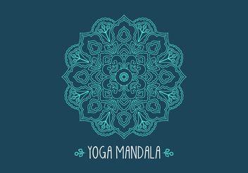 Free Ethnic Fractal Mandala Vector - Kostenloses vector #149749
