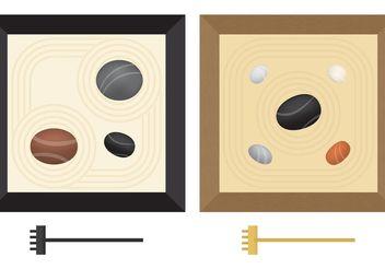 Mini Zen Gardens - vector #149969 gratis
