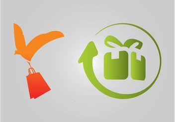 Shipping Logos - vector #150379 gratis