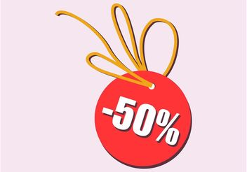 Discount Tag - vector #150679 gratis