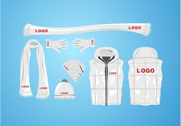 Winter Apparel - vector #150749 gratis