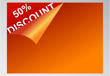 Discount Card - vector gratuit #150969