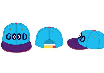 Smile Hat Vector - vector #151229 gratis