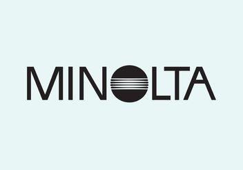 Minolta Vector Logo - Kostenloses vector #151819