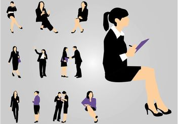 Working Women - Free vector #151829