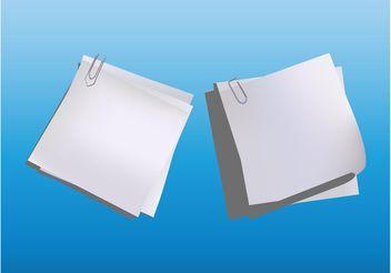 Paper Sheets Vectors - Free vector #152119