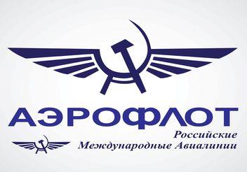 Aeroflot Logo - Free vector #152409
