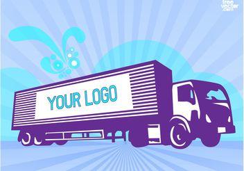 Truck Vector - Free vector #152479