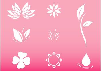 Nature Icons - vector #153019 gratis