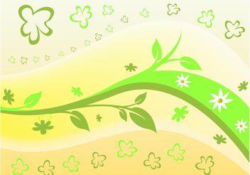 Flowers Petals Vector - vector #153139 gratis