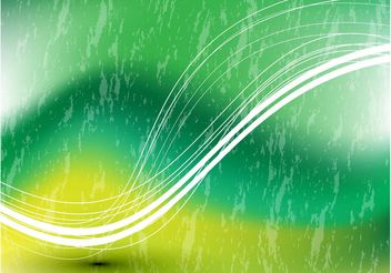 Green Swoosh Vector Background - Free vector #153159