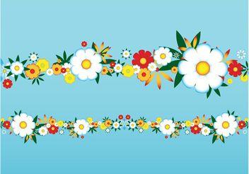 Vector Flowers - Kostenloses vector #153329