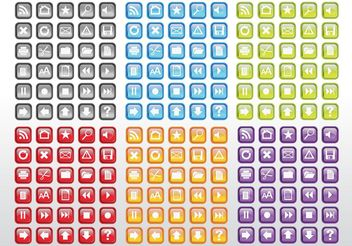 Free Computer Icons Pack - Free vector #153609