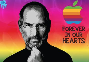 Steve Jobs - бесплатный vector #153699
